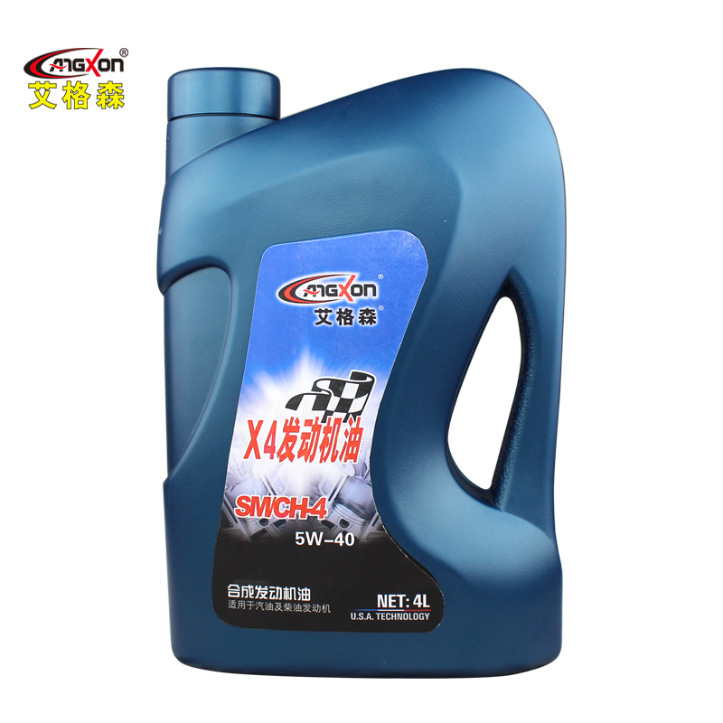 Ai gesen synthetic car engine oil lubricants sm angxon/ch synthetic engine oil 4l 5w-40 car