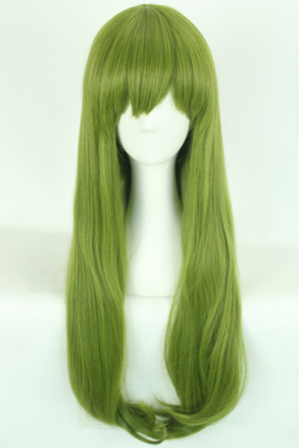 Ai sini wig real shot kuroko's basketball shintaro of genetically army green in the straight hair wig cos