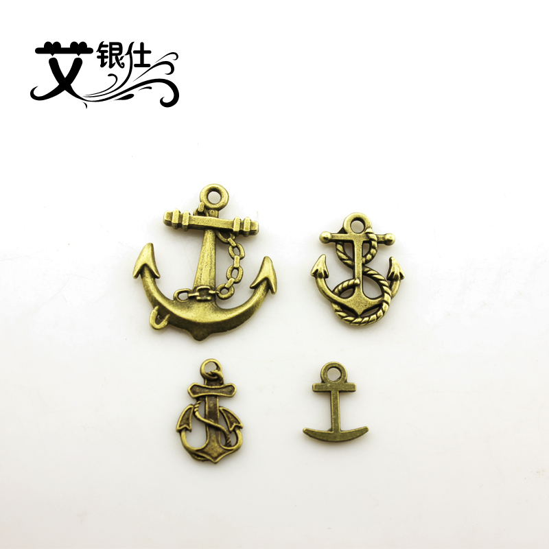 Ai yinshi diy handmade jewelry materials accessories retro anchor anchor anchor retro alloy fittings set