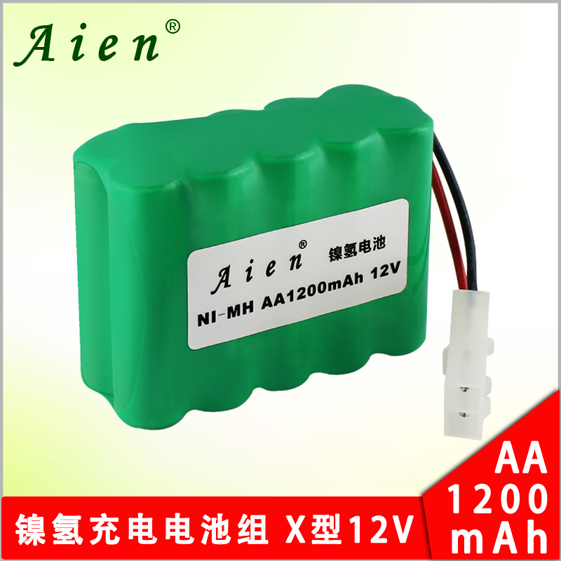 Aien aa1200mah toy car remote control car no. 5x12 v nimh rechargeable battery pack