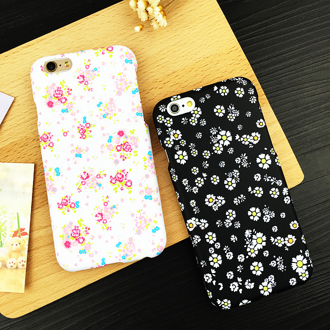Aimos lovely floral apple 6 s iphone6 plus phone shell mobile phone shell the whole package sided matte protective sleeve female tide