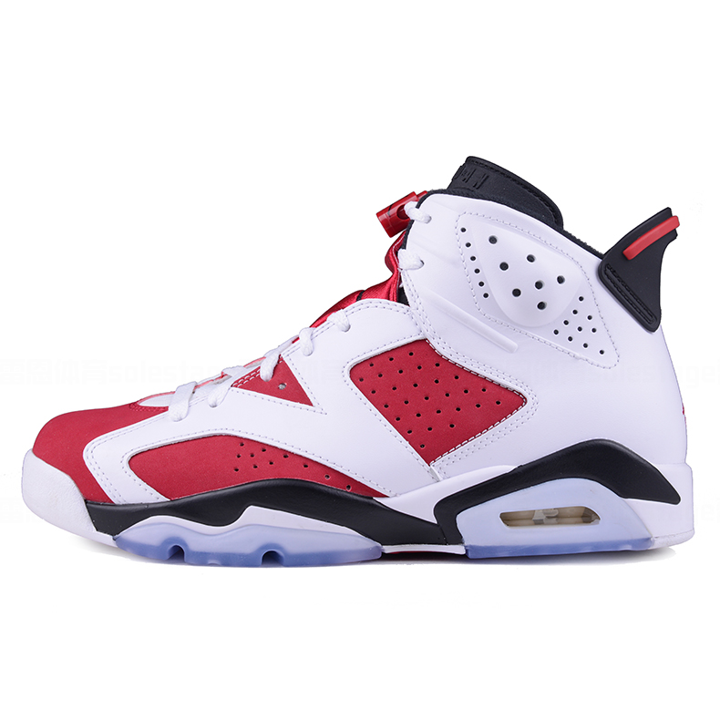 25f6a43efbe2 Get Quotations · Air jordan 6 retro carmine aj6 carmine joe 6 men s  basketball shoes 384664-160