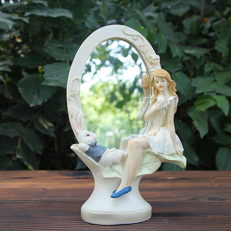 'Alice figure resin crafts ornaments home accessories living room bedroom decoration wedding gift to send girls
