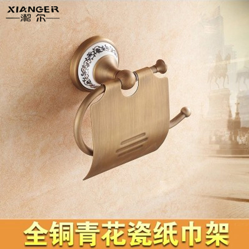 All copper antique bathroom tissue box tissue box of toilet paper rolls of toilet bathroom toilet tissue box roll of toilet paper box