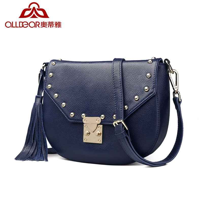 b01230d6b Get Quotations · Alldear/o'day o'day accor accor sellae horse 2016 rivet  leather shoulder