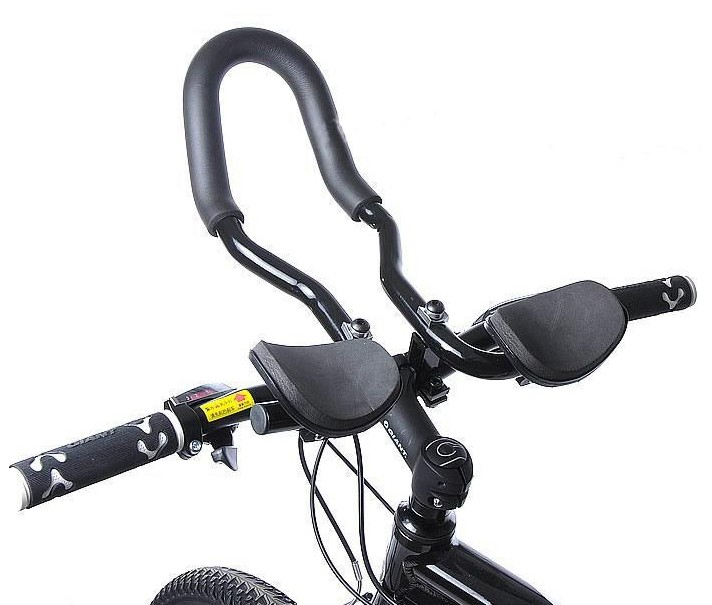 Aluminum bicycle deputy to the rest of the long distance mountain bike handlebar road/racing aerobar