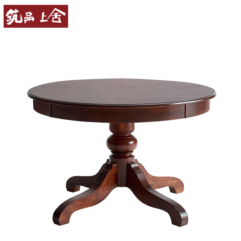 American country dining table solid wood dining tables and chairs combination of neoclassical wood dining table large european style dining table furniture