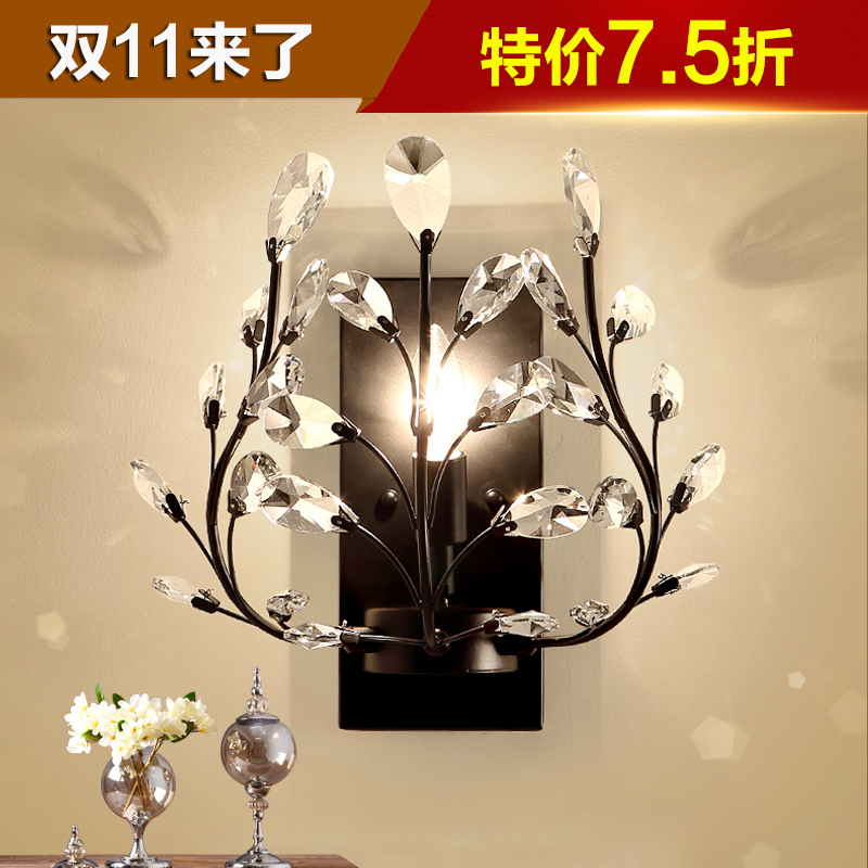 American country minimalist wall lamp european modern living room bedroom bedside lamp aisle lights lamps creative personality