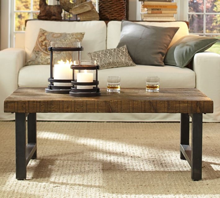 American country wrought iron wood coffee table tea table sofa side a few simple upscale leisure to do the old retro coffee table