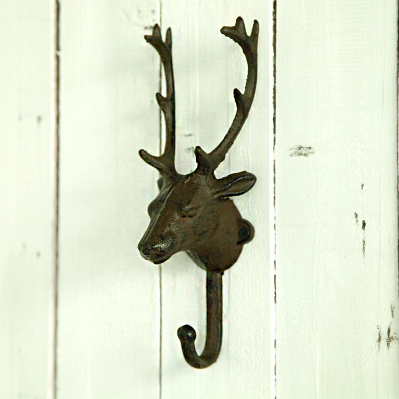 American creative deer hanging wall hangings decorative animal stereo hook european retro living room wall bedroom wall decoration