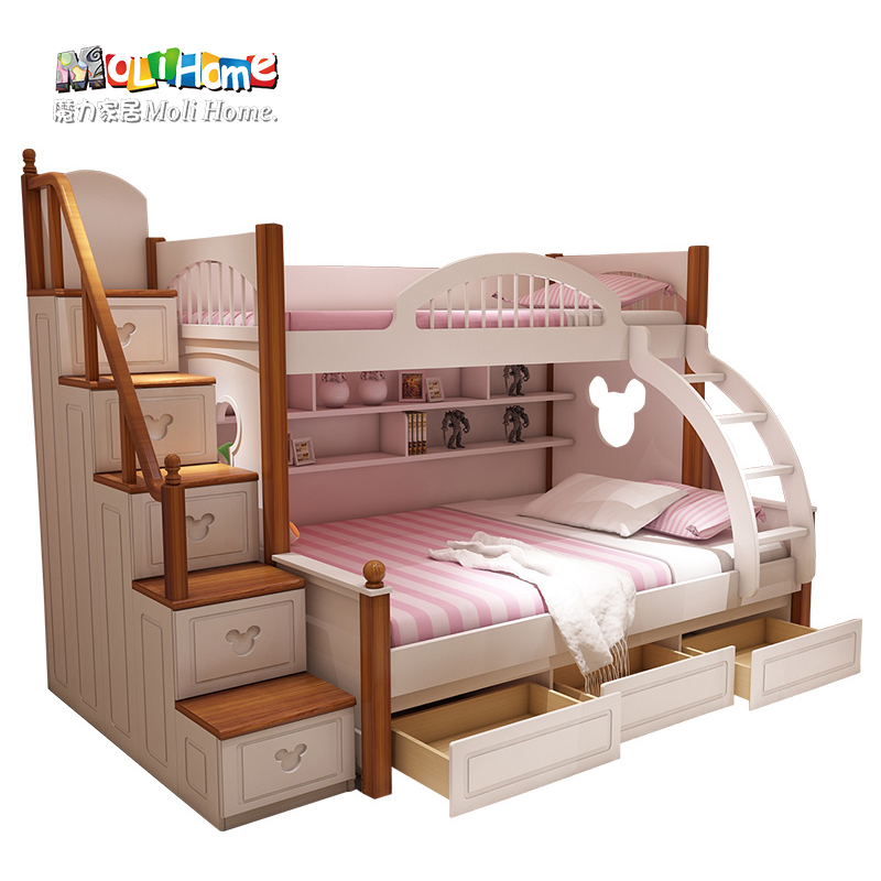 Buy American Mediterranean Bed Bunk Bed Mother And Boy Child Princess Bed Bed Bunk Bed Bunk Bed Bed Bed Girl In Cheap Price On Alibaba Com