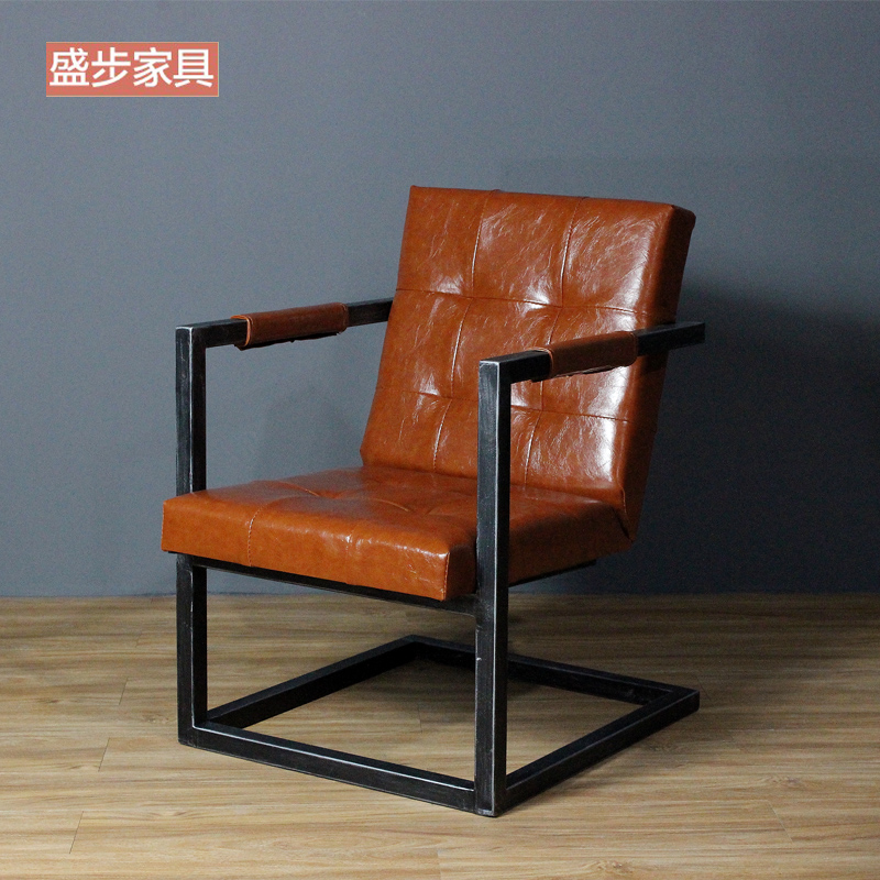 Exceptional Get Quotations · American Retro Industrial Loft Style Wrought Iron Sofa Chair  Armchair Chair Office Chair Chair Lounge Chair