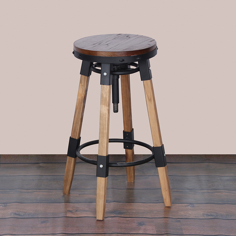 American vintage wrought iron wood dining chair rotating chair lift chair bar stool bar stool bar chair bar stool bar stool bar table