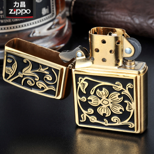 American zippo lighters genuine original copper rich flowers genuine limited edition 20903z ippo lighters genuine