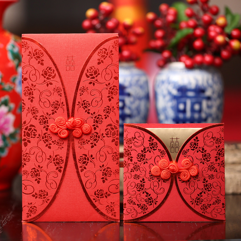 Amidst the collection of red wedding ideas 2016 chinese wedding wedding ten thousand yuan red envelopes red packets size