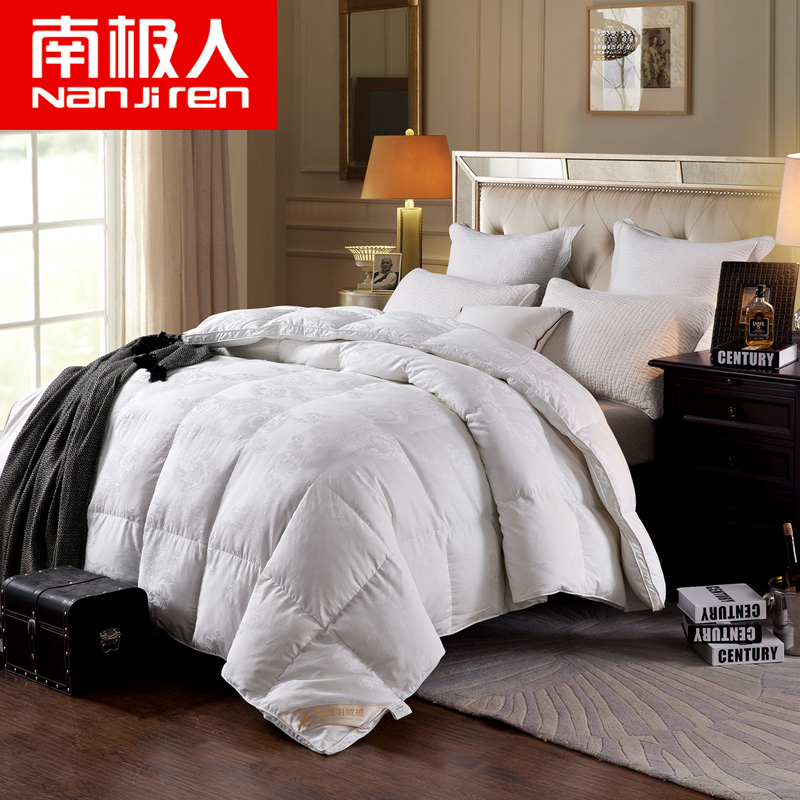 Antarctic warm thick cotton duvet 90 white goose down duvets and winter is the core genuine special offer free shipping
