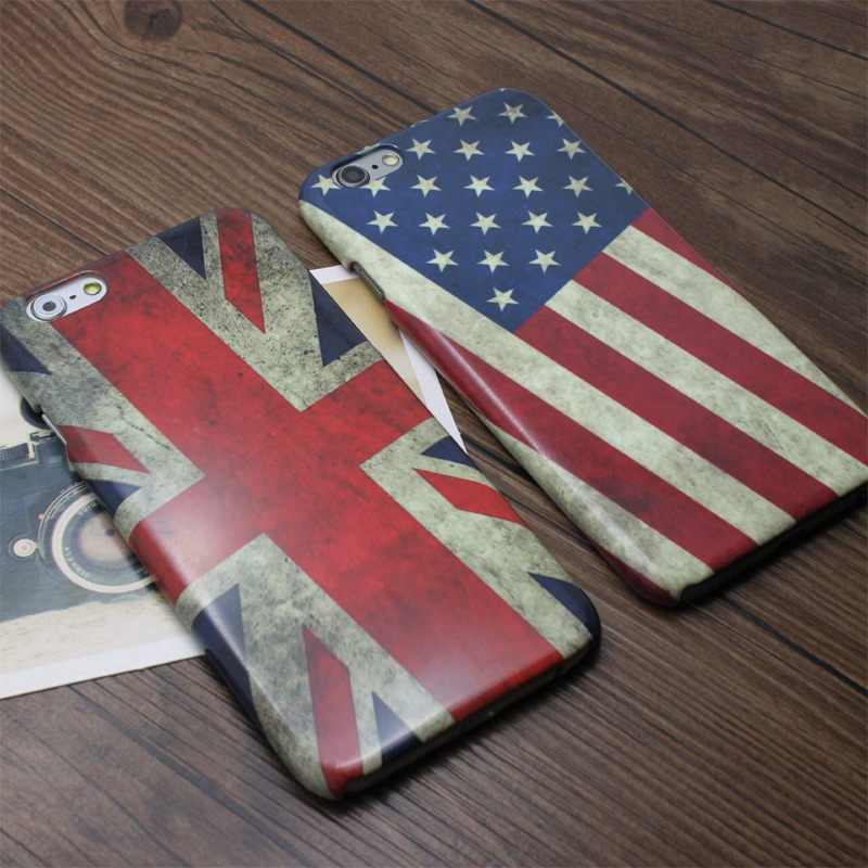 4bb3f6ad422f Get Quotations · Apple iphone6 phone shell mobile phone shell s flag style  popular brands of mobile phone sets