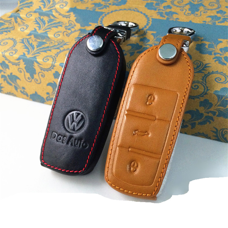 Applicable to the new volkswagen magotan cc wallets wallets leather wallets dedicated remote key sets special modification