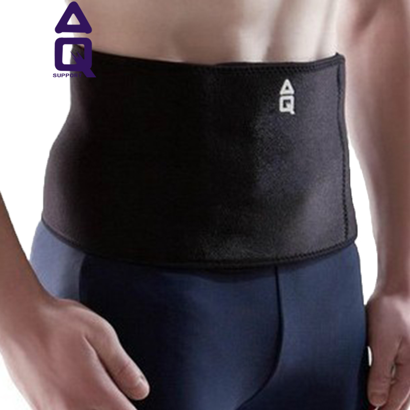 Aq sports waist lumbar disc breathable and comfortable nursing warm waist protection belt for men and women basketball fitness basketball brace