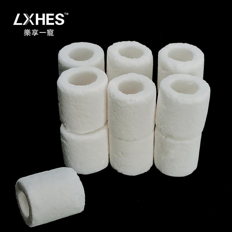 Aquarium fish tank filter material aquarium fish tank filter medium biological and biochemical glass ceramic ring biological ring 400