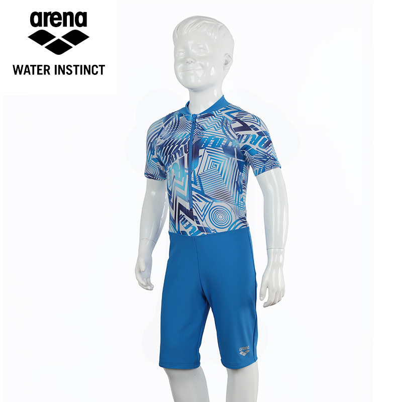Arena 2016 new children boys and girls swimwear piece swimsuit boxer swimsuit high elastic anti sai wicking comfort