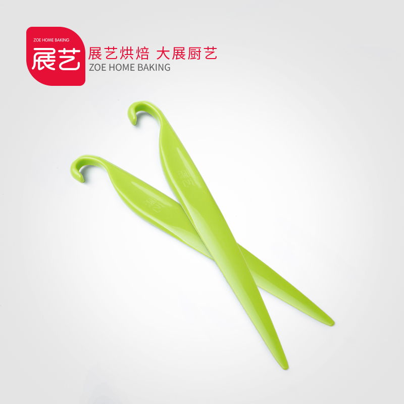 Arts exhibition bakeware plastic stripping knife chiffon cake with butter scraper spatula stir stick