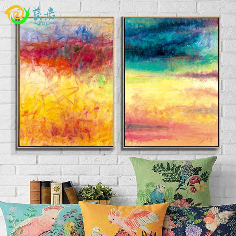 Arts habitat home simple and stylish modern abstract painting decorative painting the living room sofa wall paintings framed mural study clubhouse restaurant