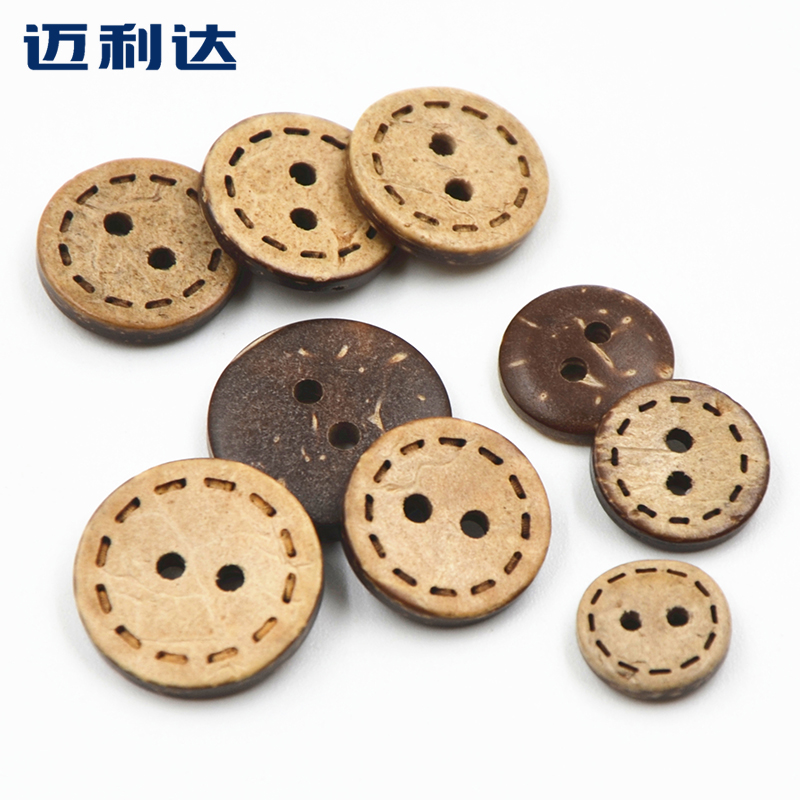 As we move ledah childrenwear 15,4 sided with environmentally friendly natural coconut shell buttons coconut buckle handmade buttons buttoned cardigan