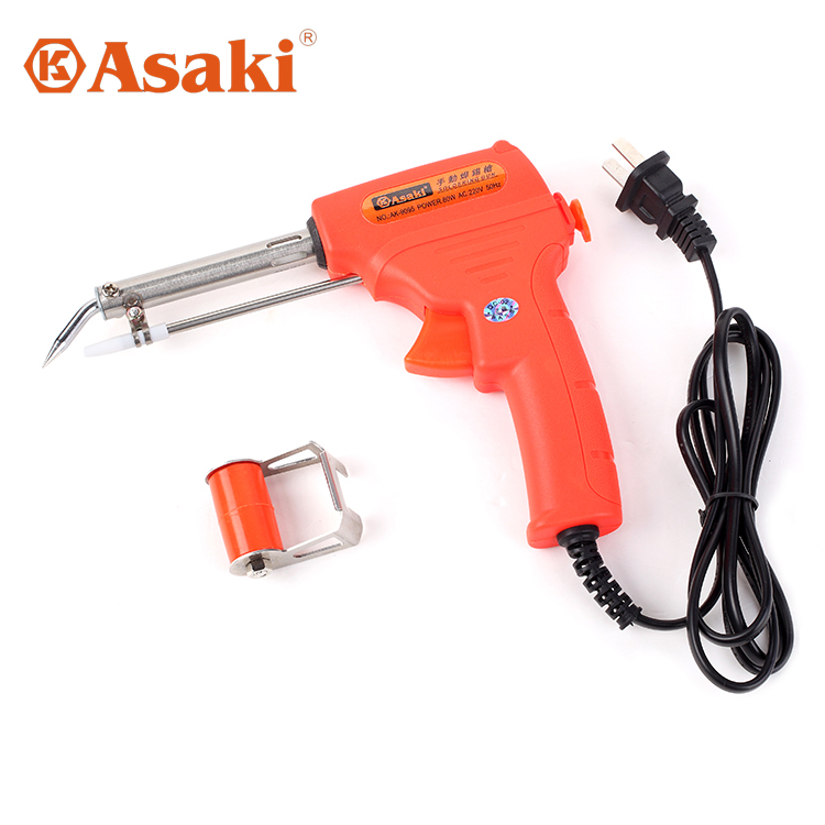 Asaki asaki boutique manual soldering gun automatically send tin soldering iron soldering gun soldering head