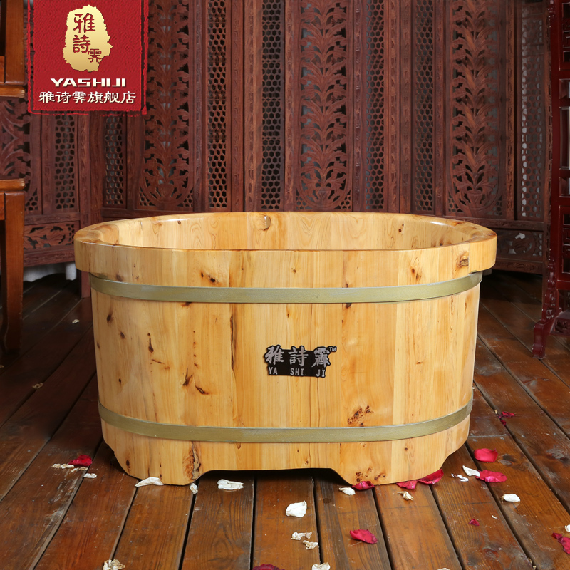 Ascott ji children baby bath tub baby bath barrel cedar bath barrel bath barrel bath tub