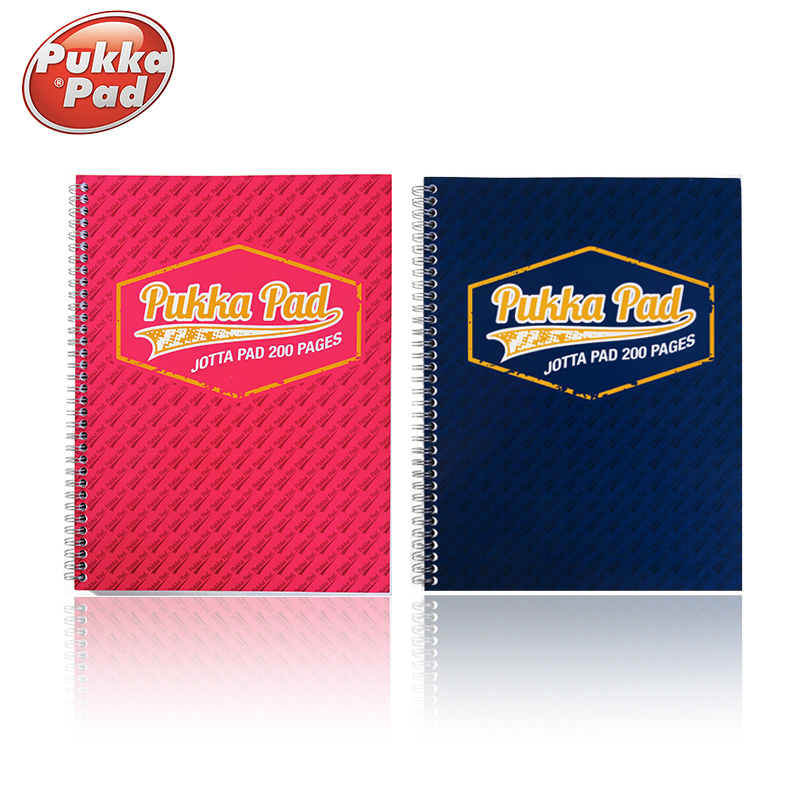 At the university of british pukka pad series universal easy to tear take a4 | a5 notebook hand books lecture notebook child