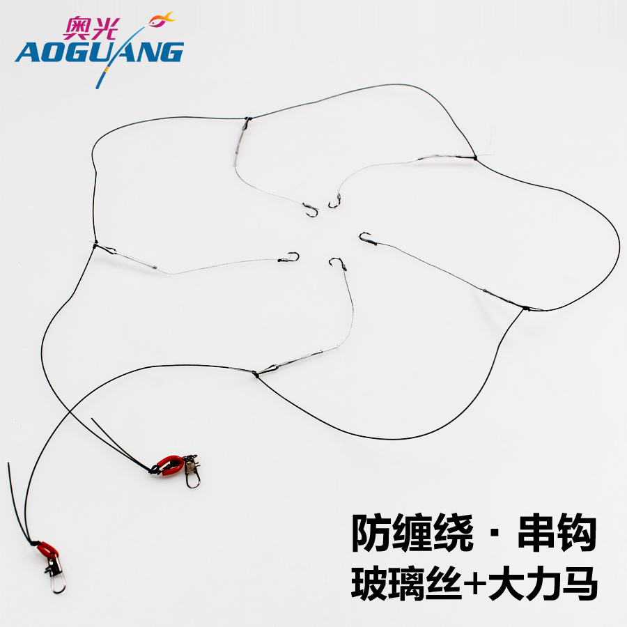 Austrian glass wire wrapped around the main anti imported fishing hook ise nigeria string hook vigorously ma line groups fishing tackle