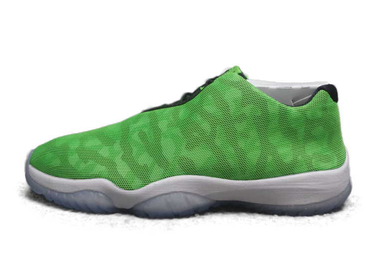 Get Quotations · Authentic air jordan future low jordan future black ice  sao green two color 718948-018 a0aef6692