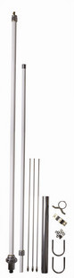 Authentic eagles x-200 x200 base antenna uv double segment fiberglass antenna base station fiberglass rods