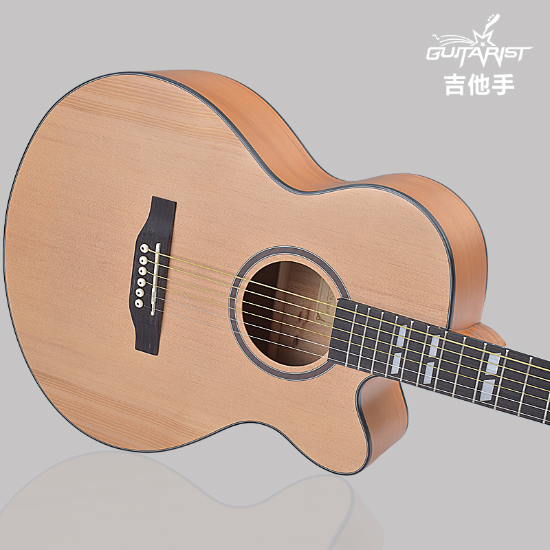 Authentic guitar guitar 40 inch 41 inch wooden folk guitar beginner guitar beginners to practice learning guitar entry jita