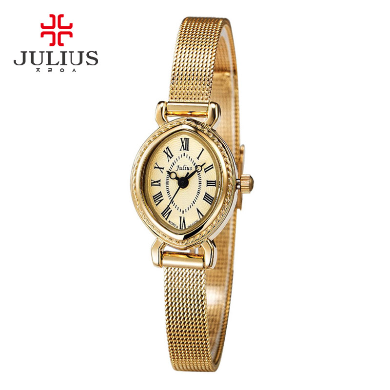 Authentic korean julius poly lee retro elegant fashion female form when the tide fitted ladies watches women