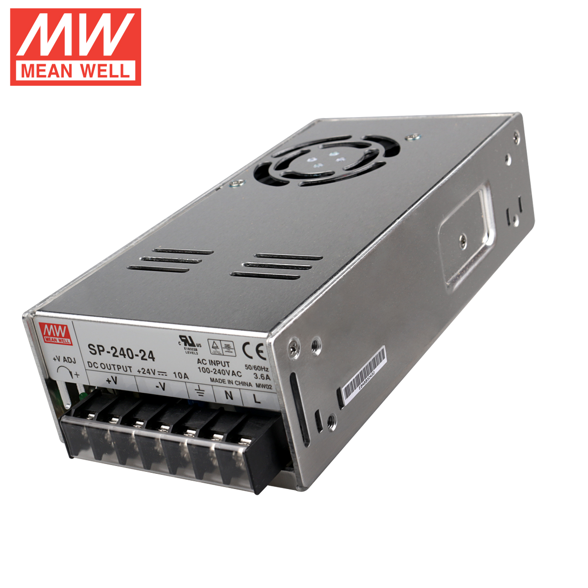 [Authorization] meanwell taiwan meanwell switching power supply 24v10a SP-240-24 240W active pfc