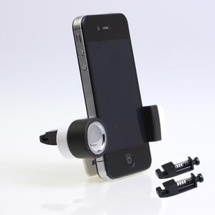 Automotive air conditioning vent phone holder snap mini car phone holder cell phone clip cell phone holder bracket