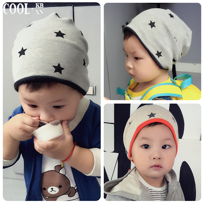 Autumn and winter hat baby 0--3 months months baby newborn baby tire cap spring and autumn new children children hedging cap