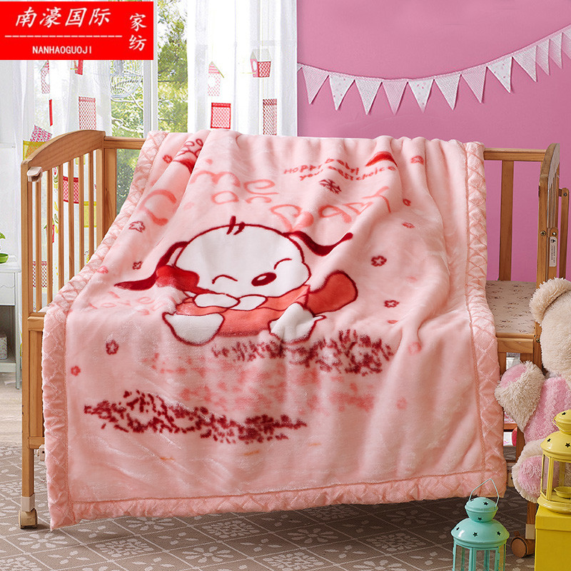 Autumn and winter super soft double thick blanket baby blankets for children raschel child blanket blanket cover blanket cartoon blanket
