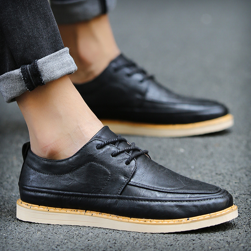 Autumn british style men's casual shoes tide bottomed shoes casual shoes wild shoes men shoes tide shoes young men