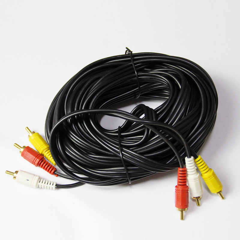 Av cable 5 m 10 m 15 m 20 m av cable audio and video cable 3 turn 3