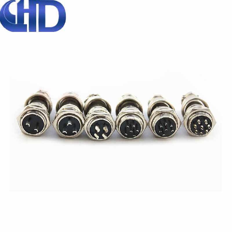 Aviation plug socket gx16-2 core 3 core 4 core 5 core pin connector connector jointbar 6-7-8-9-10