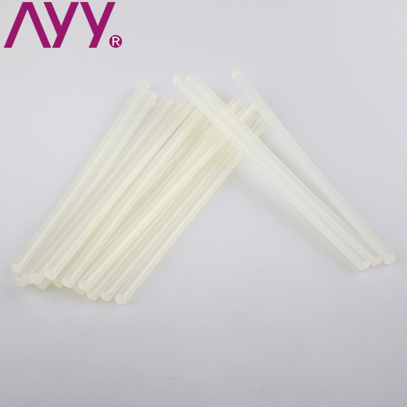 Ayy environmental quality transparent hot melt glue stick hot melt adhesive glue stick trumpet hot melt glue gun 7 m * 190mm