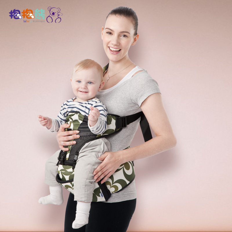 Baby bear hug baby stool waist strap waist stool stool holding infant children hold back stool stool multifunctional single shoulder bag Breathable