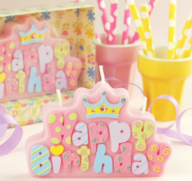 Baby birthday party supplies creative birthday gift birthday candles happy birthday cake candles