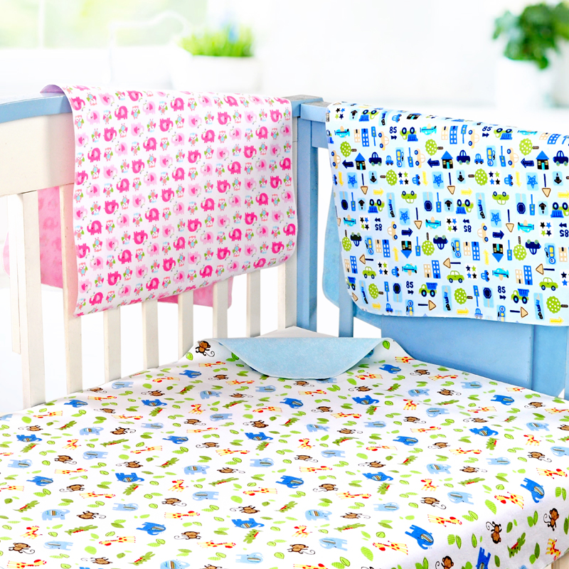 Baby changing mat waterproof breathable cotton oversized bamboo fiber newborn baby supplies winter menstrual pad free shipping