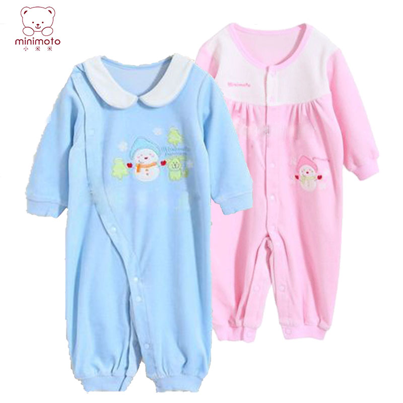 Baby coveralls spring mimi 0-1-2-year-old male and female baby romper climbing clothes newborn baby coveralls