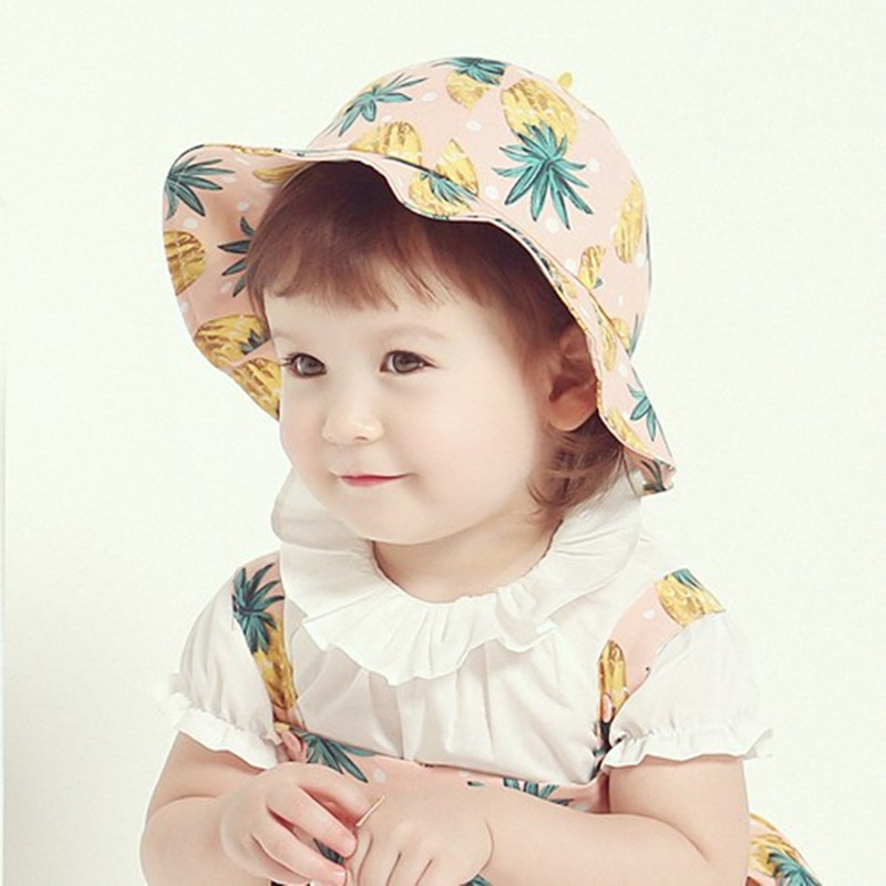 Baby hat baby hat bumao 3-6-12 months autumn sun hat female baby hat bucket hats sun hat beach hat summer