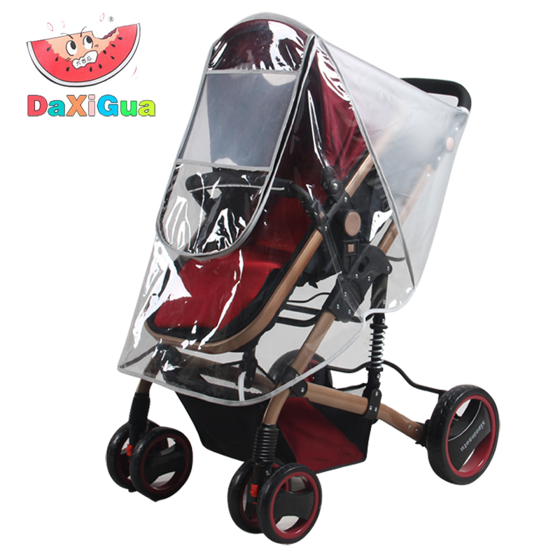Baby stroller rain cover stroller umbrella stroller car hood appentice windscreen stroller rain cover and dust free shipping